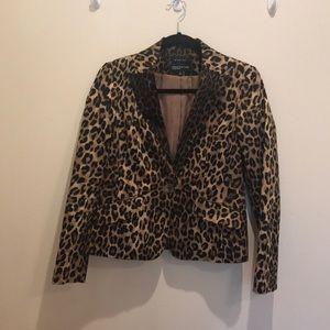 Jones of New York - Leopard print blazer - G024